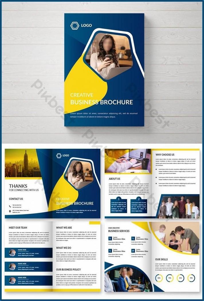 Corporate Brochure Templates Free