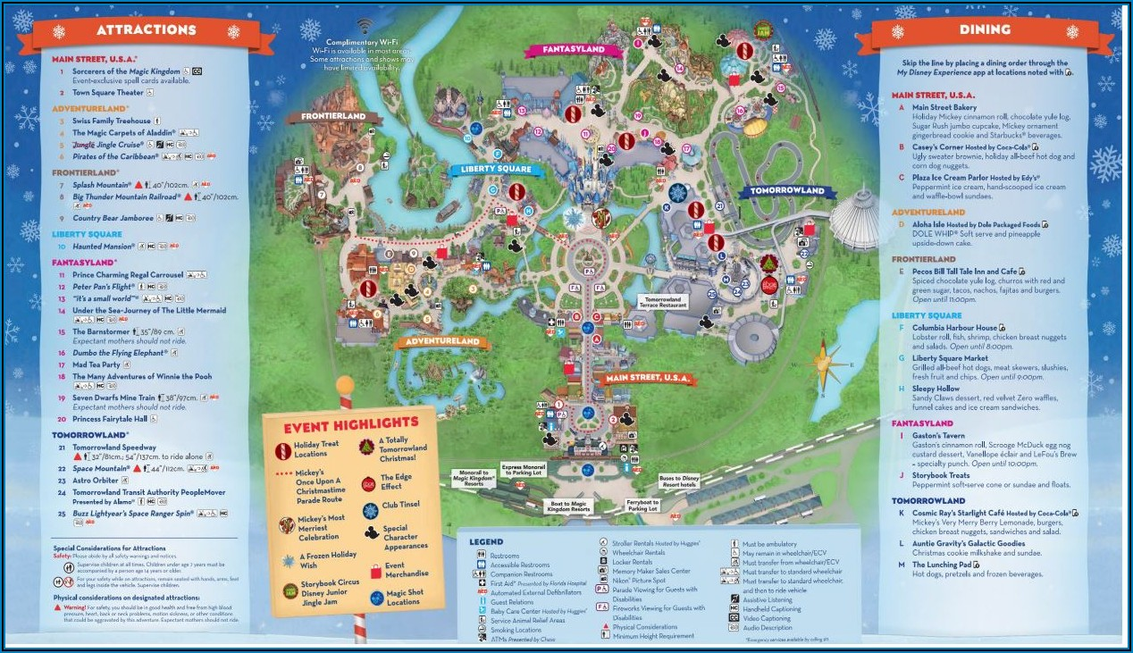 Disney World Brochure 2019 Pdf