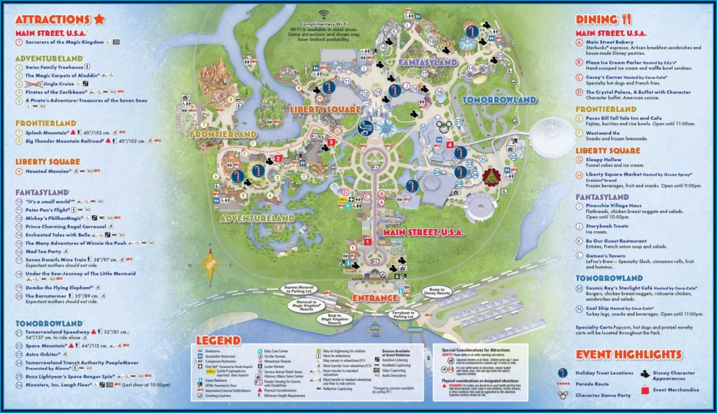 Disney World Brochure Pdf