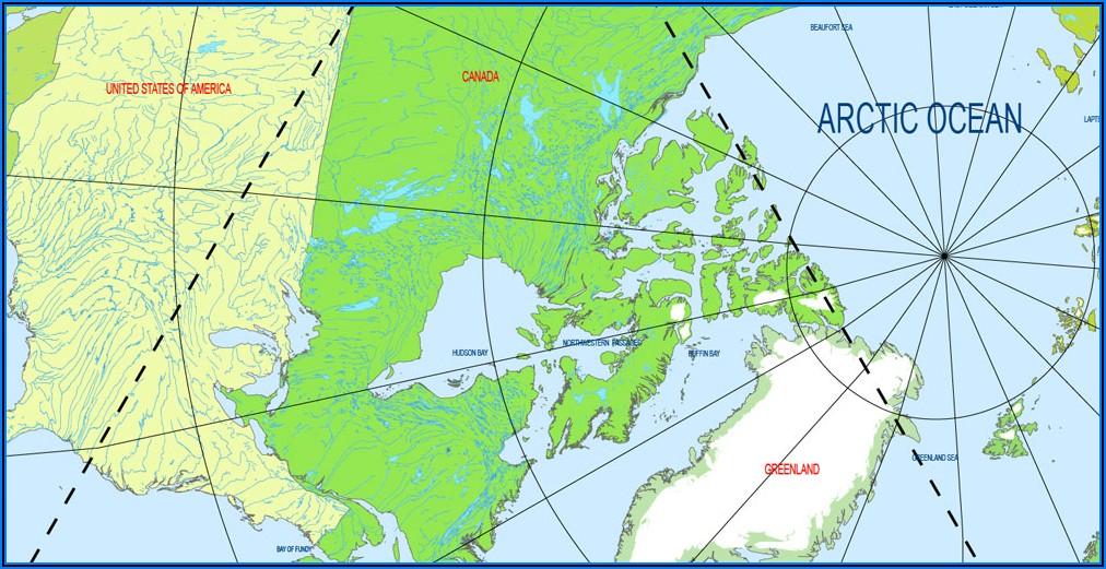 Dymaxion Sky Ocean World Map