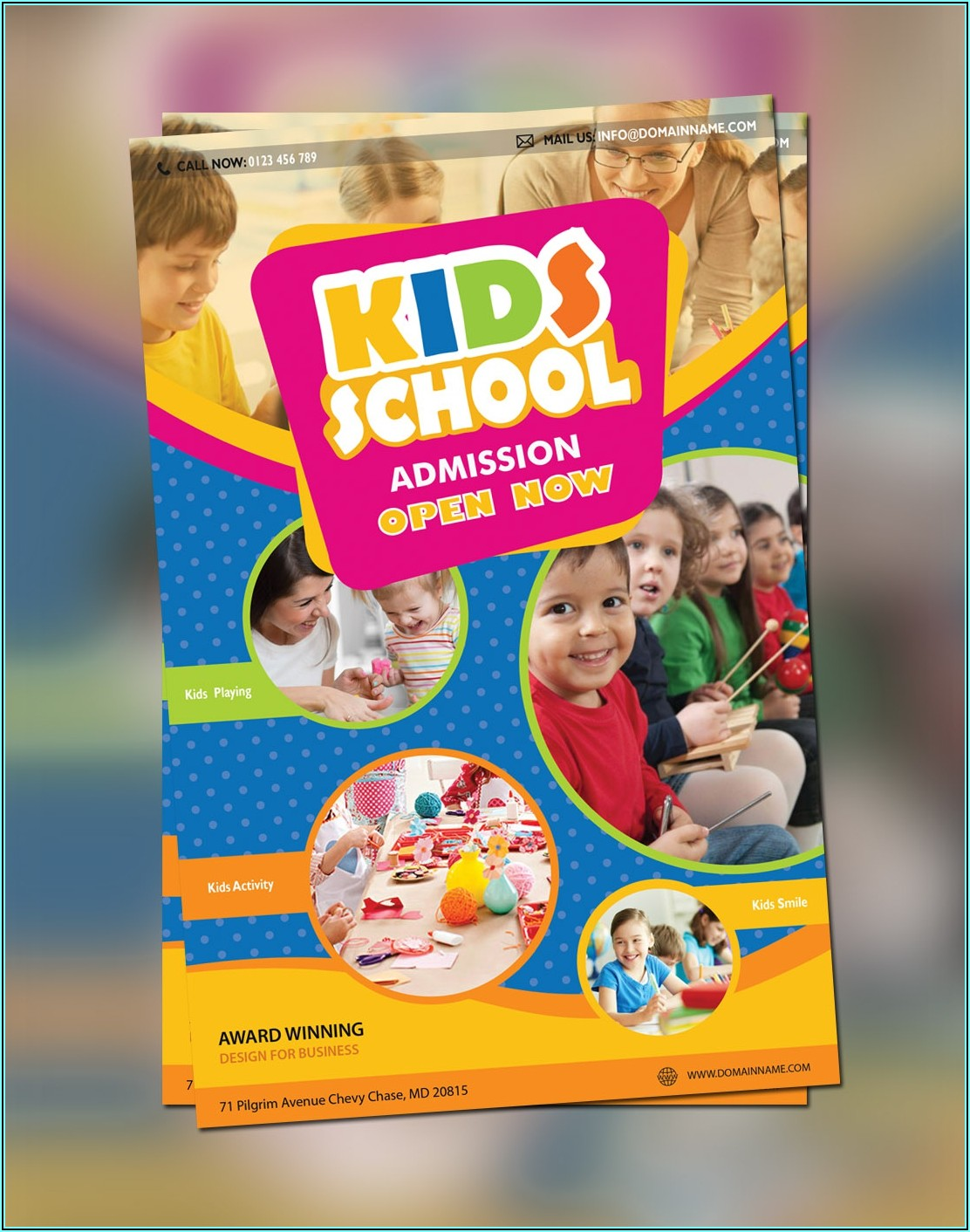 Education Brochure Design Templates Free Download