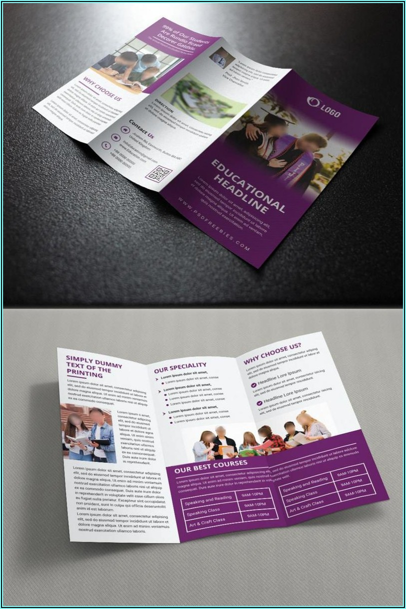 Education Brochure Templates Free Download