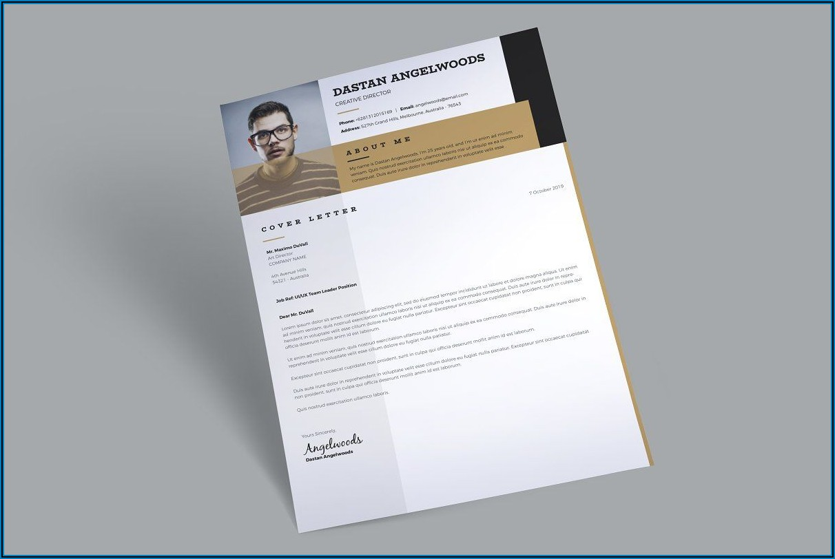 Free 3 Pages Brochure Template
