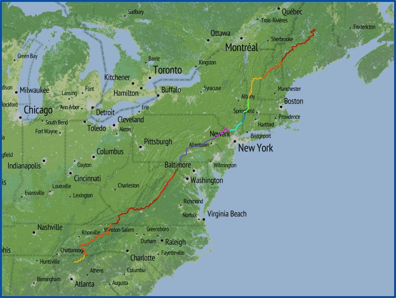 Free Appalachian Trail Map Pdf