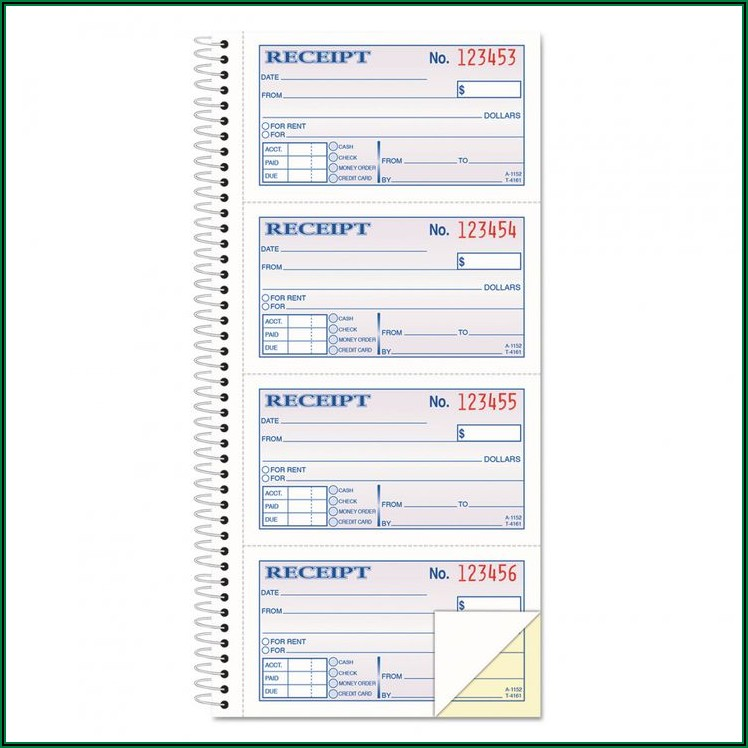 Free Massage Therapy Receipt Template