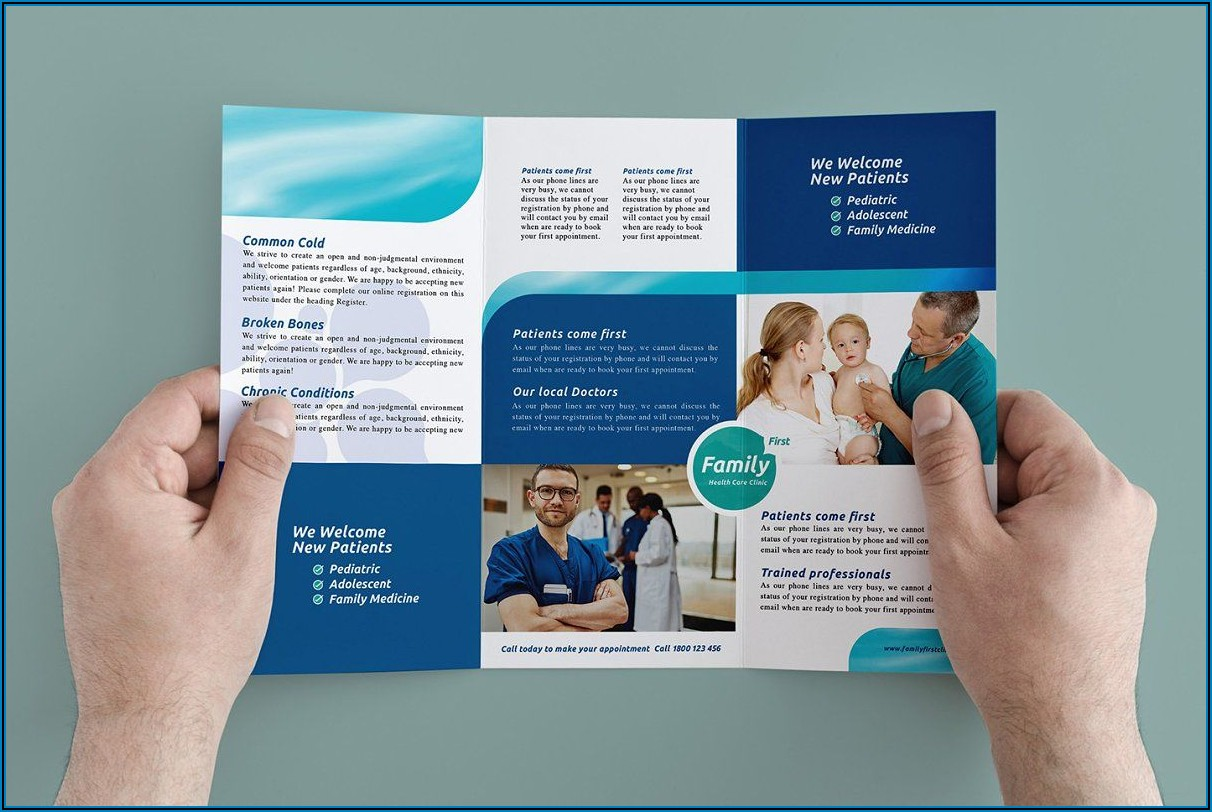 Free Medical Clinic Brochure Templates