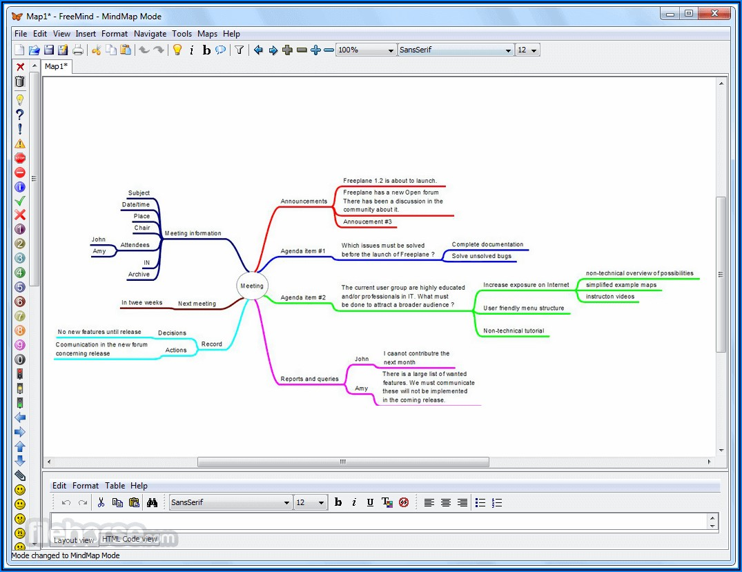 Free Mind Map Program For Windows