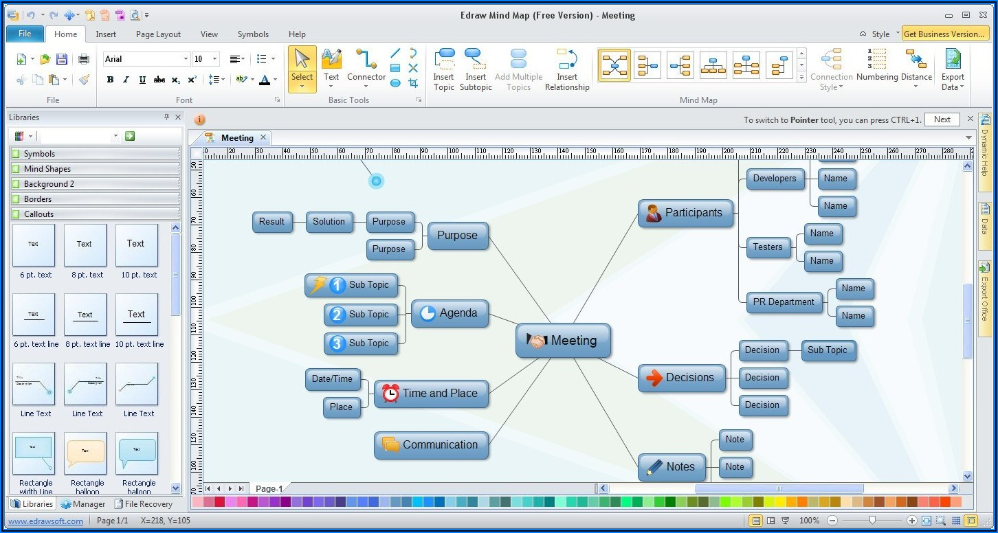 Free Mind Mapping Software For Windows