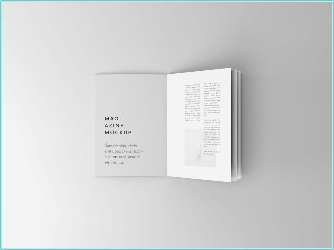 Free Mockup Booklet