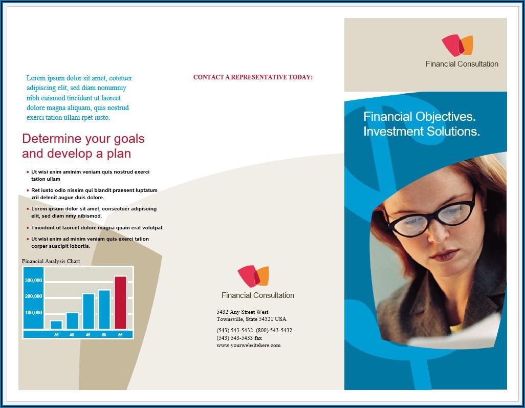 Free Tri Fold Brochure Template Word