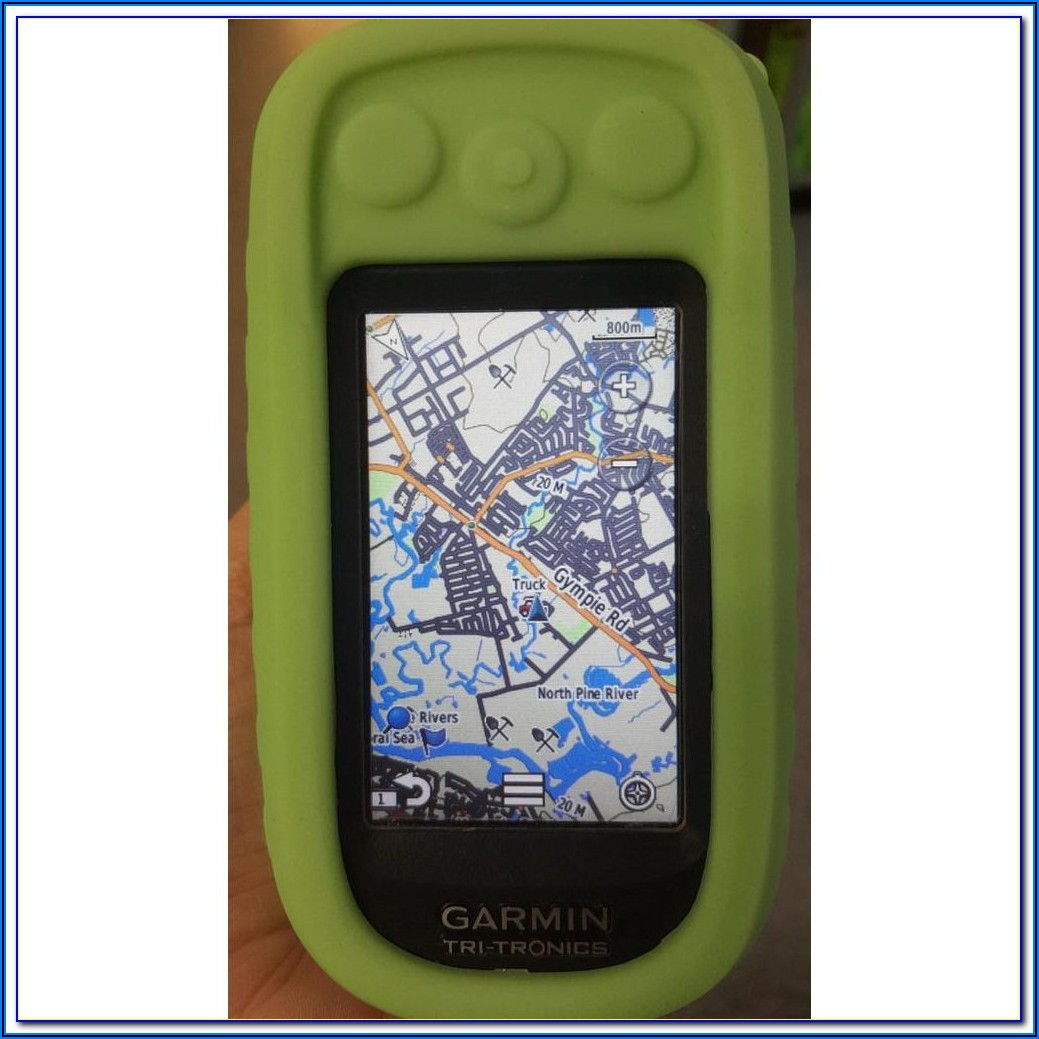 Garmin Alpha 100 Custom Maps