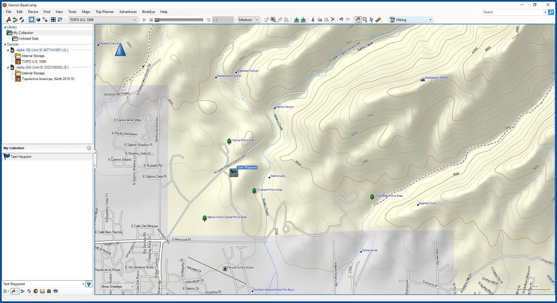 Garmin Alpha 200i Maps