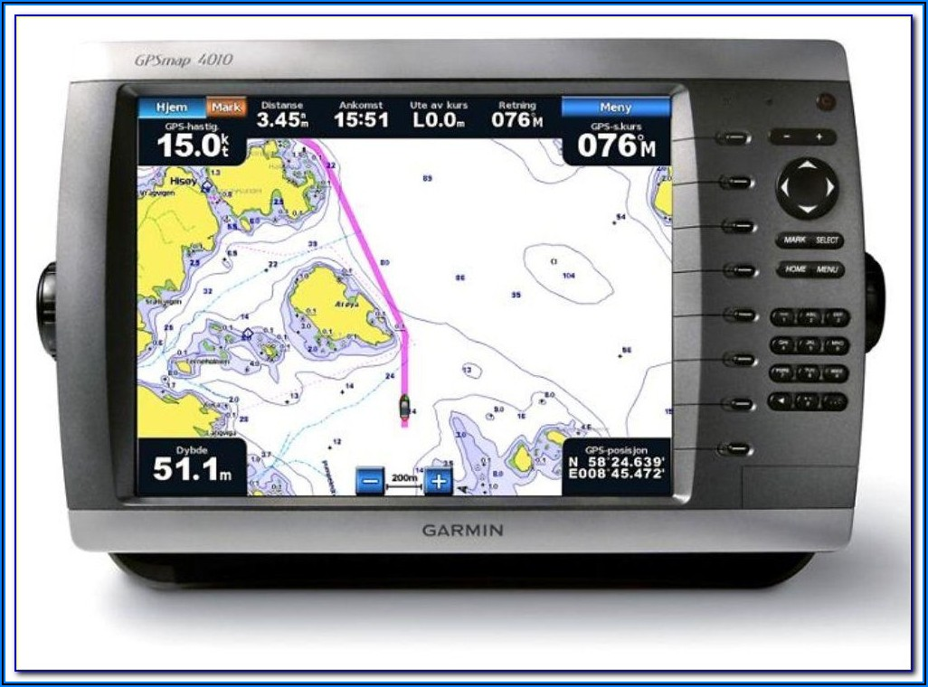 Garmin Gps Plotter Map 1020