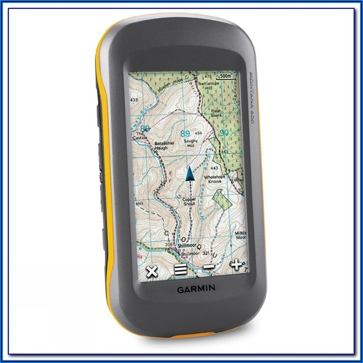 Garmin Montana 600 Map Update