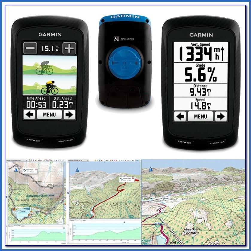 Garmin Montana 600 Maps