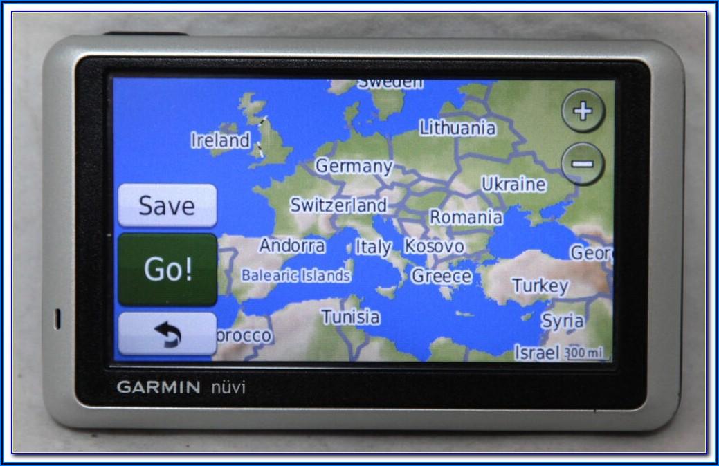 Garmin Nuvi 350 Euro Map Updates