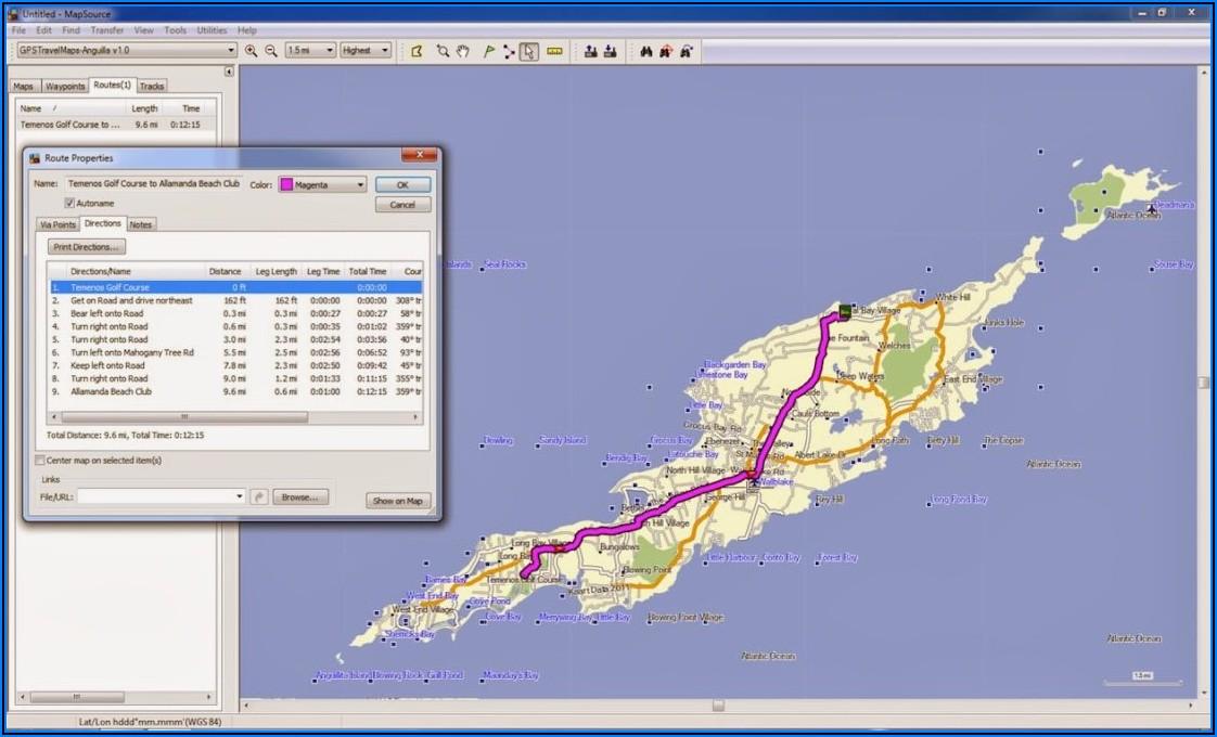 Garmin Nuvi Caribbean Maps