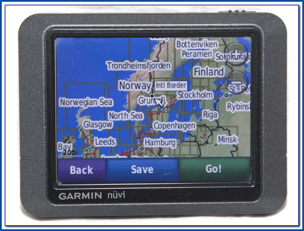 Garmin Nuvi Map Version