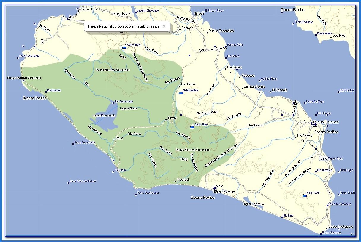 Gps Maps Costa Rica