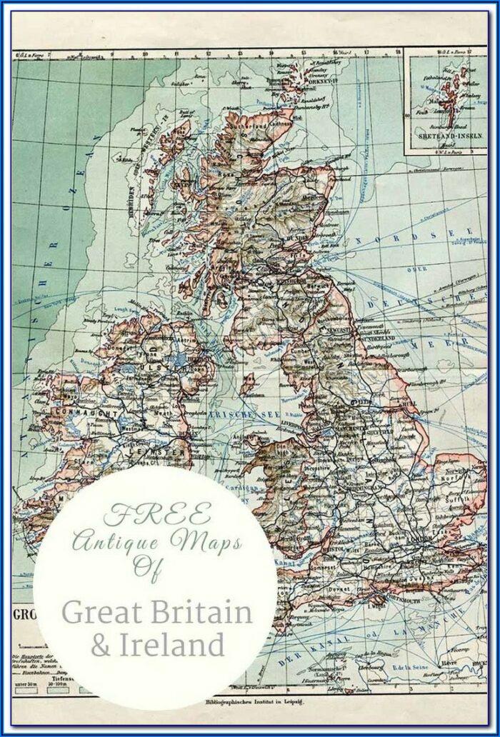 Gps Maps Ireland