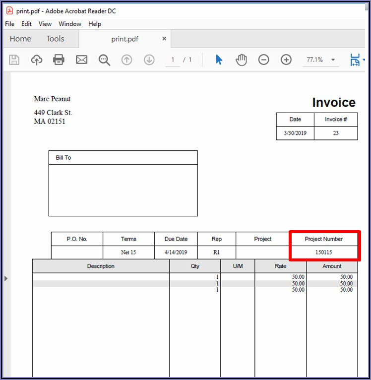 How To Print Invoices From Quickbooks