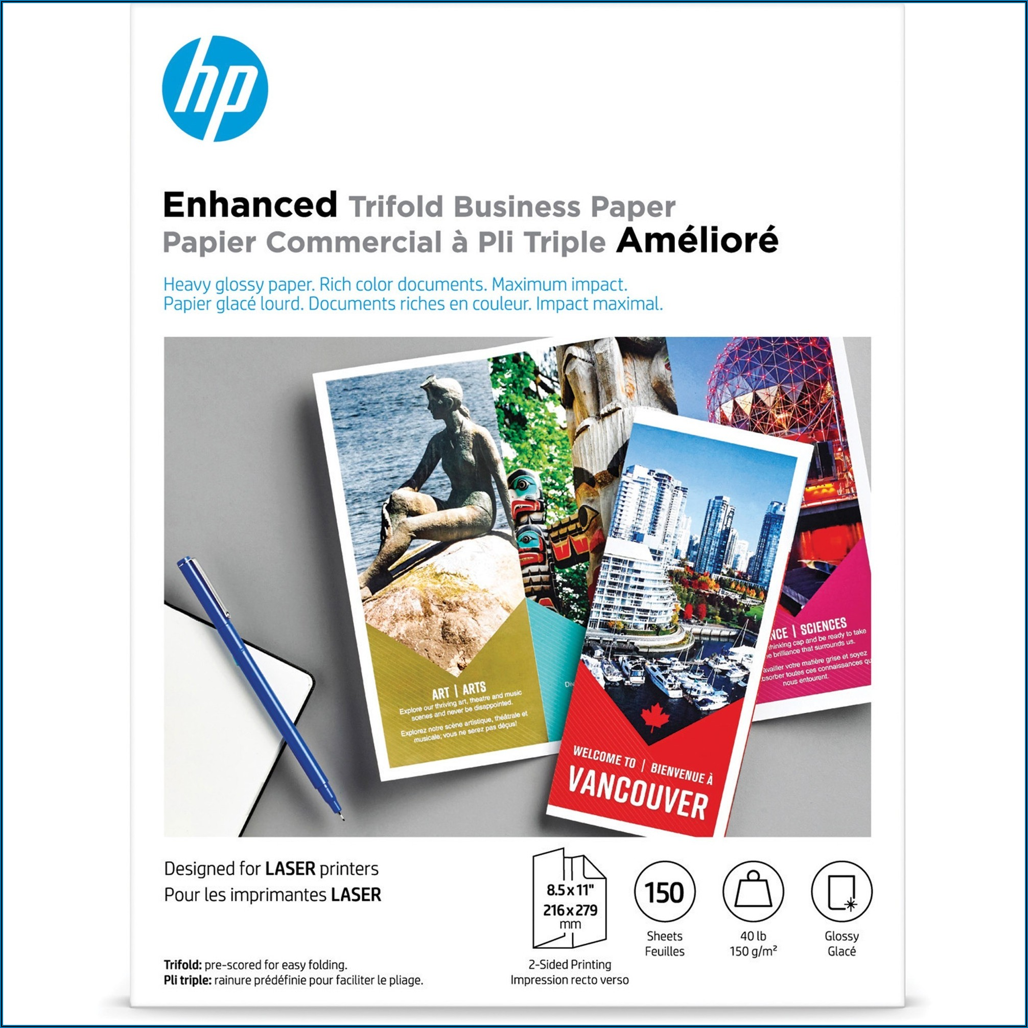 Hp Brochure Paper 150g Glossy