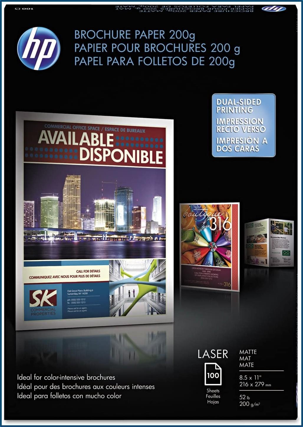 Hp Brochure Paper 200g Matte
