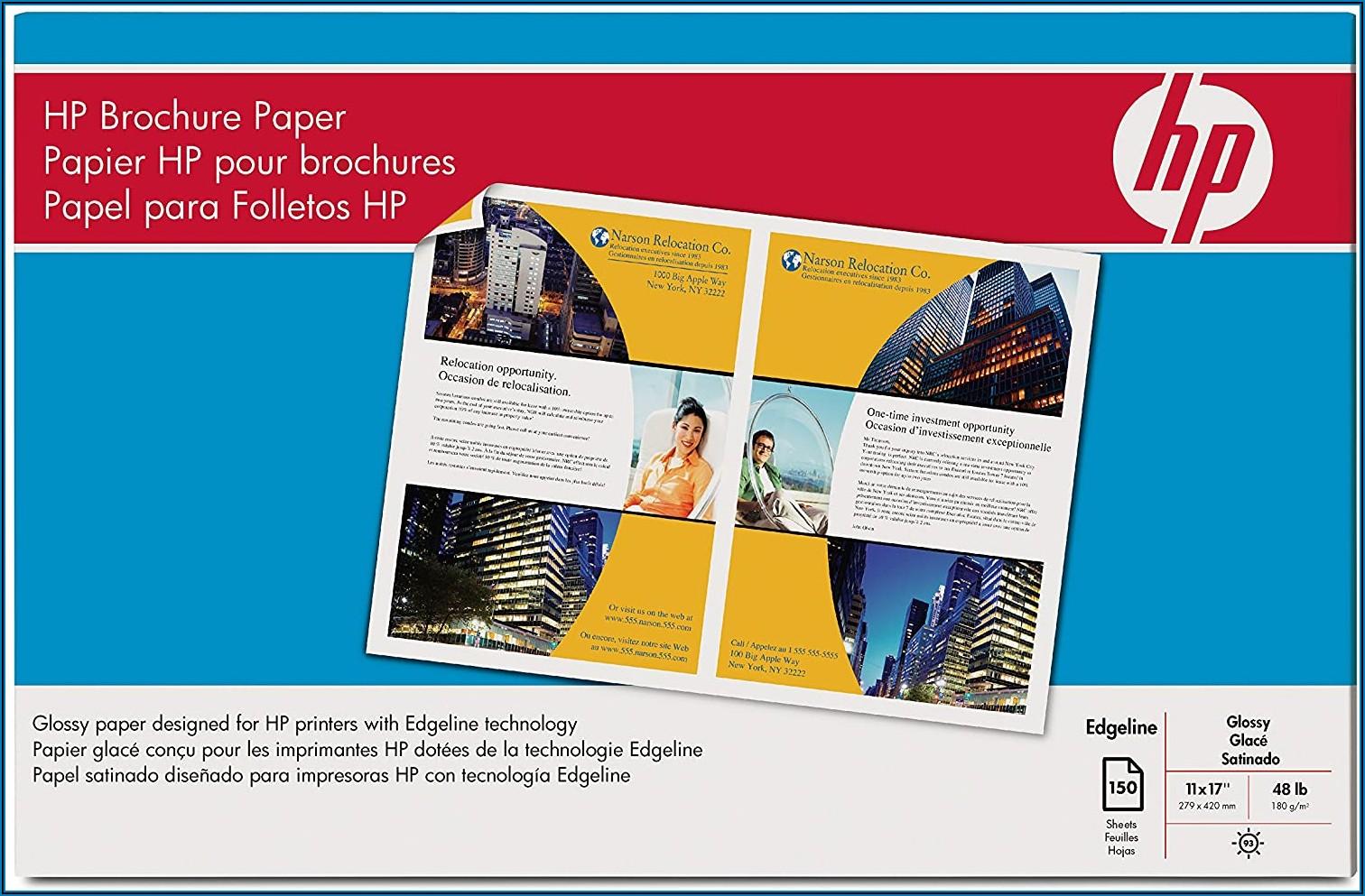 Hp Glossy Brochure Paper 11 X 17