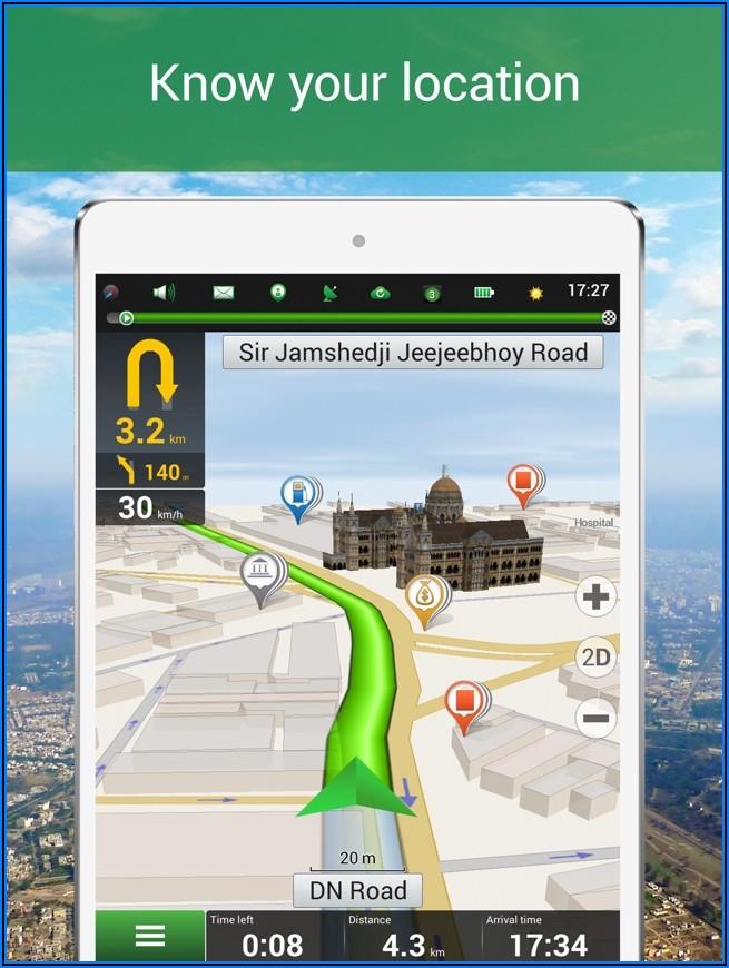 India Gps Map App