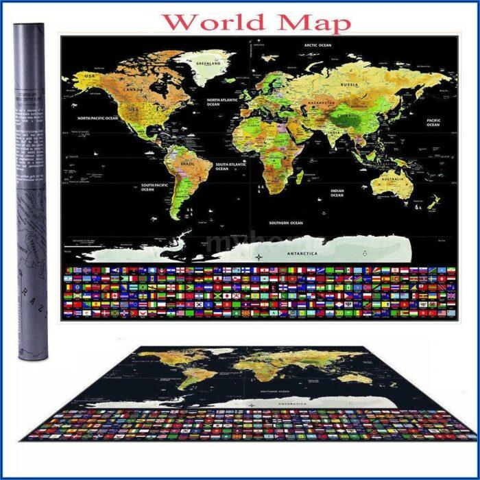 Interactive World Travel Map