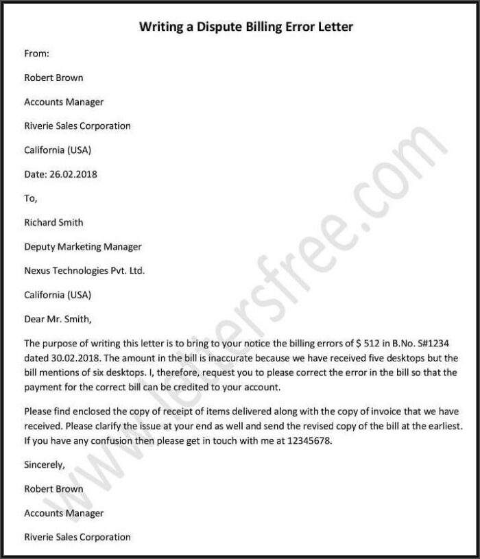 Invoice Cover Letter Template Word