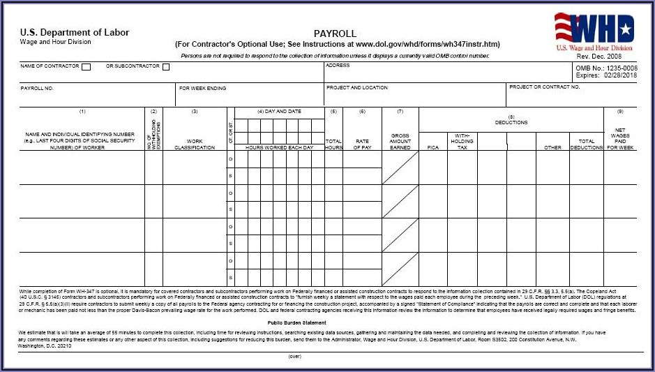 Invoice Template Word Document Download