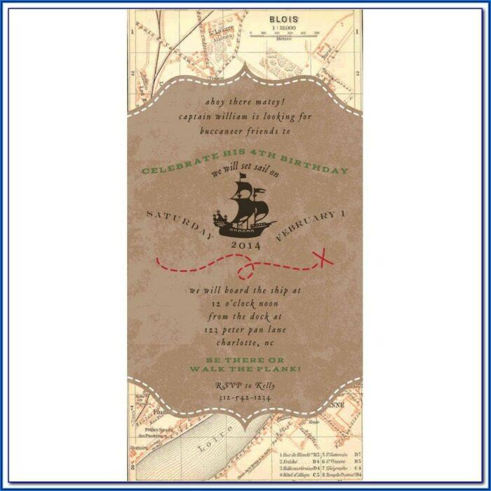 Jake And The Neverland Pirate Treasure Map Printable Free