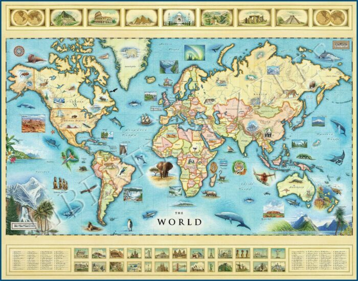 Jigsaw Map Puzzles