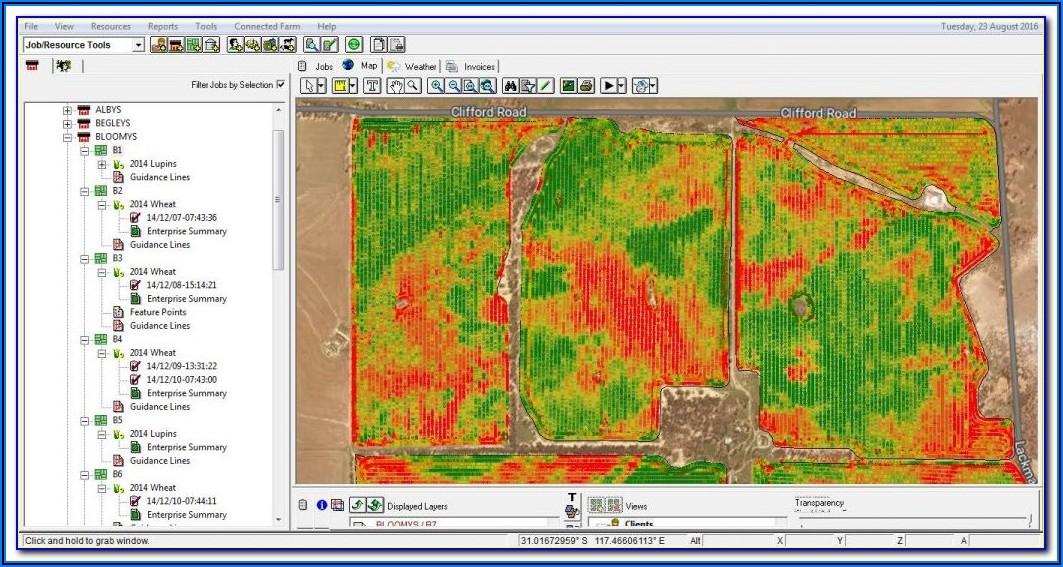 John Deere Yield Mapping Software
