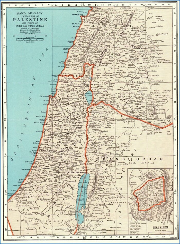 Map Of Israel Palestine Wall