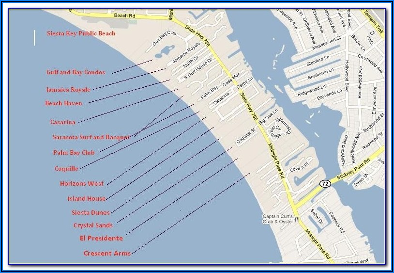 Map Of West Maui Hotels And Condos