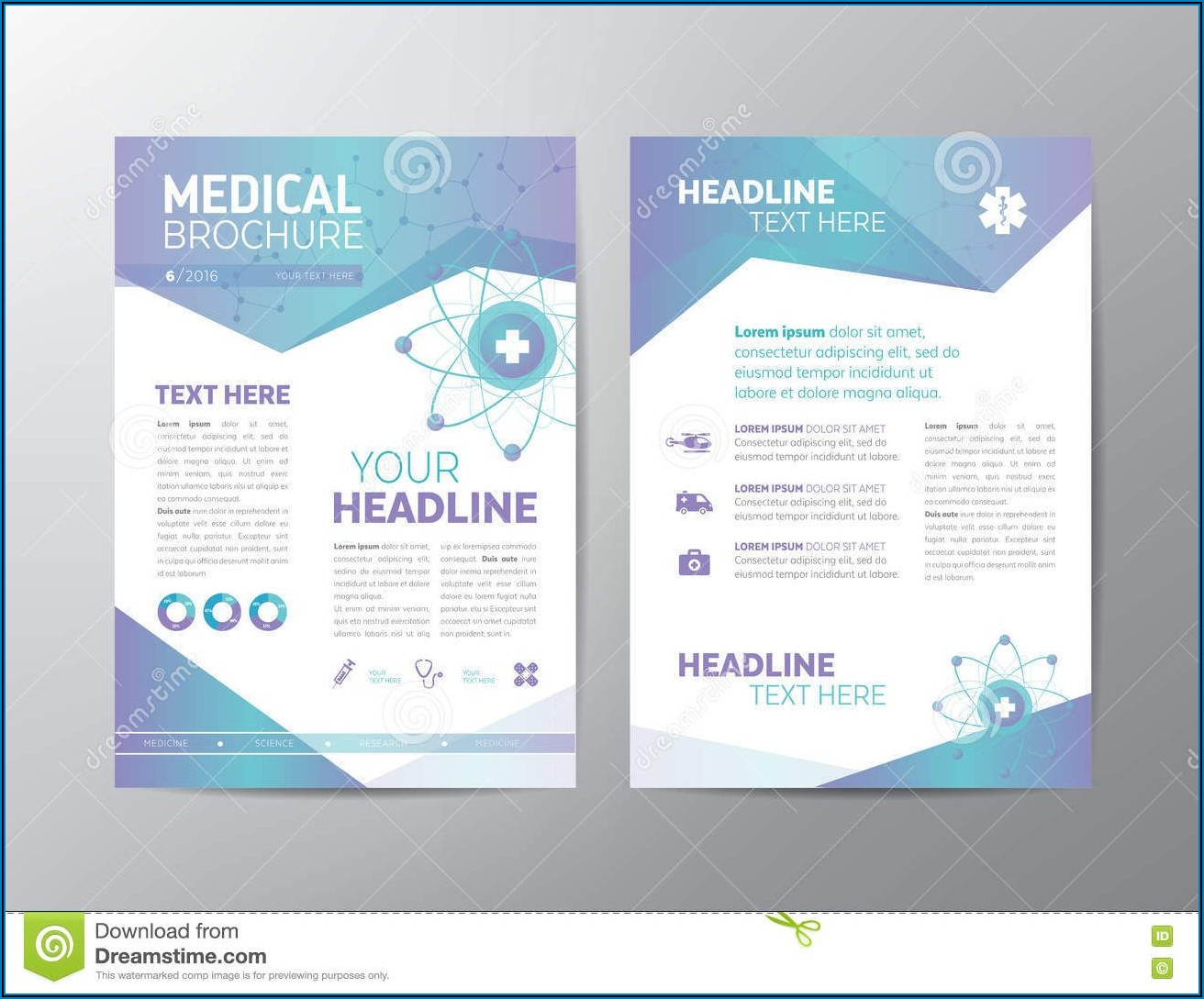 Medical Brochure Templates Microsoft Word Free