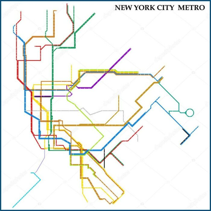 Metro Subway New York City