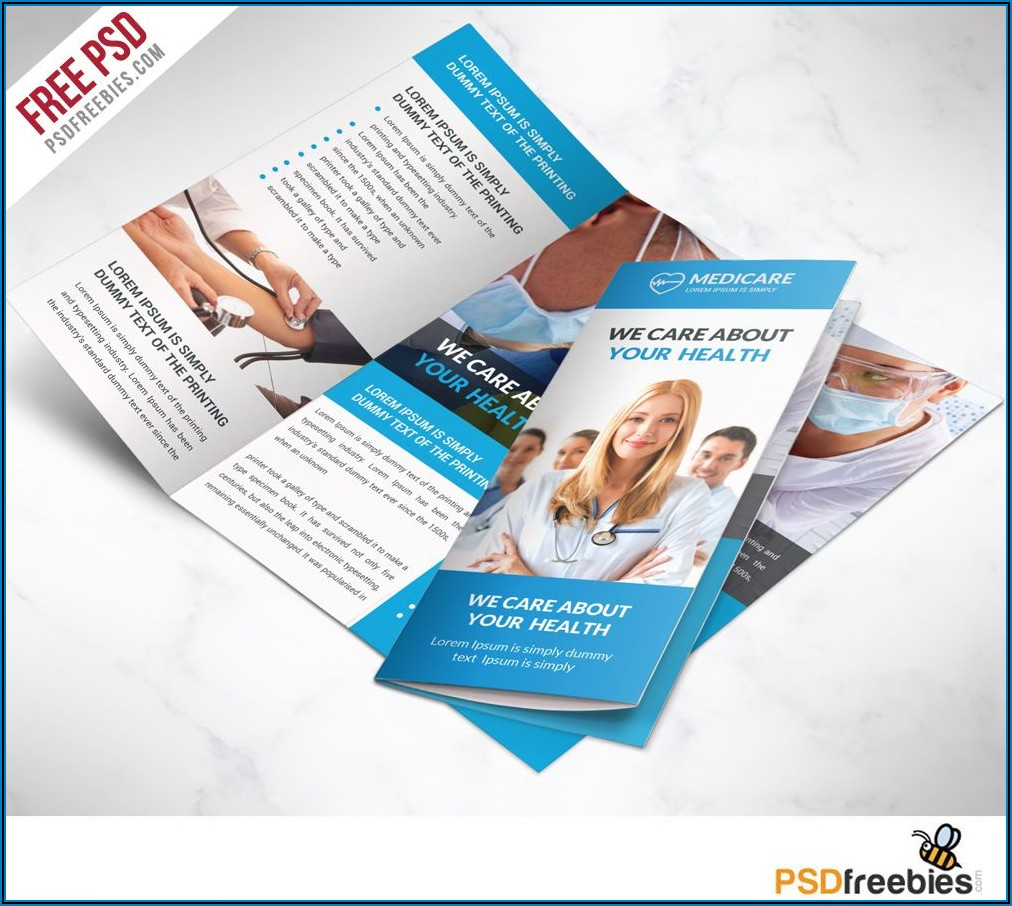 Microsoft Word Medical Brochure Template