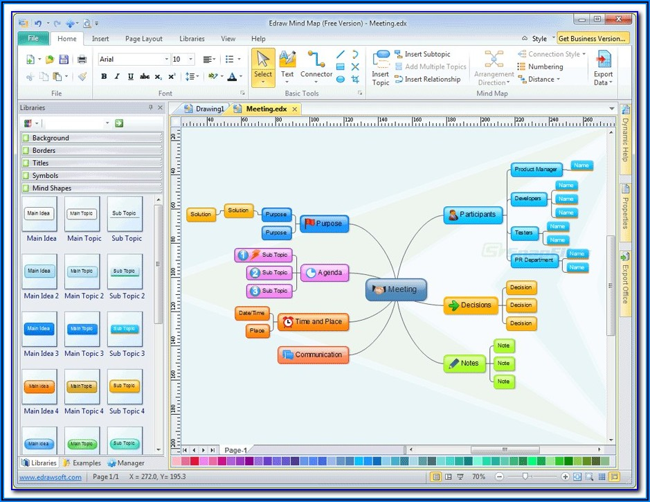 Mind Mapping App For Windows