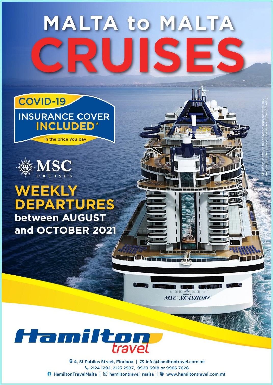 Msc Cruises Brochure Request