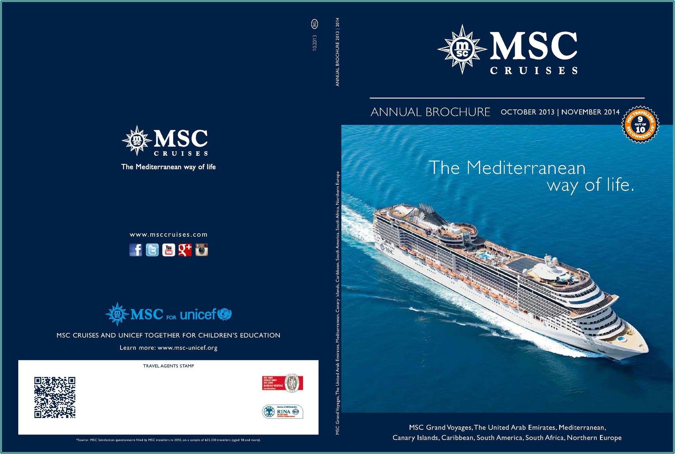 Msc Cruises Order Brochure