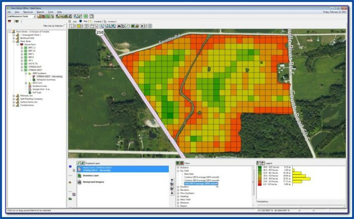 New Holland Yield Mapping Software