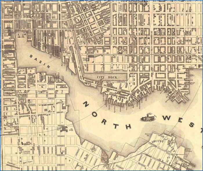 Old Baltimore Maps