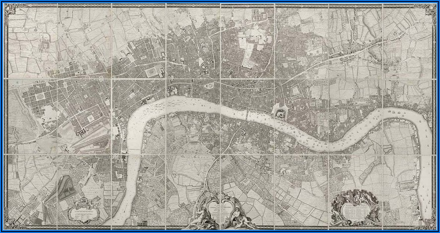 Old Maps Of London For Sale
