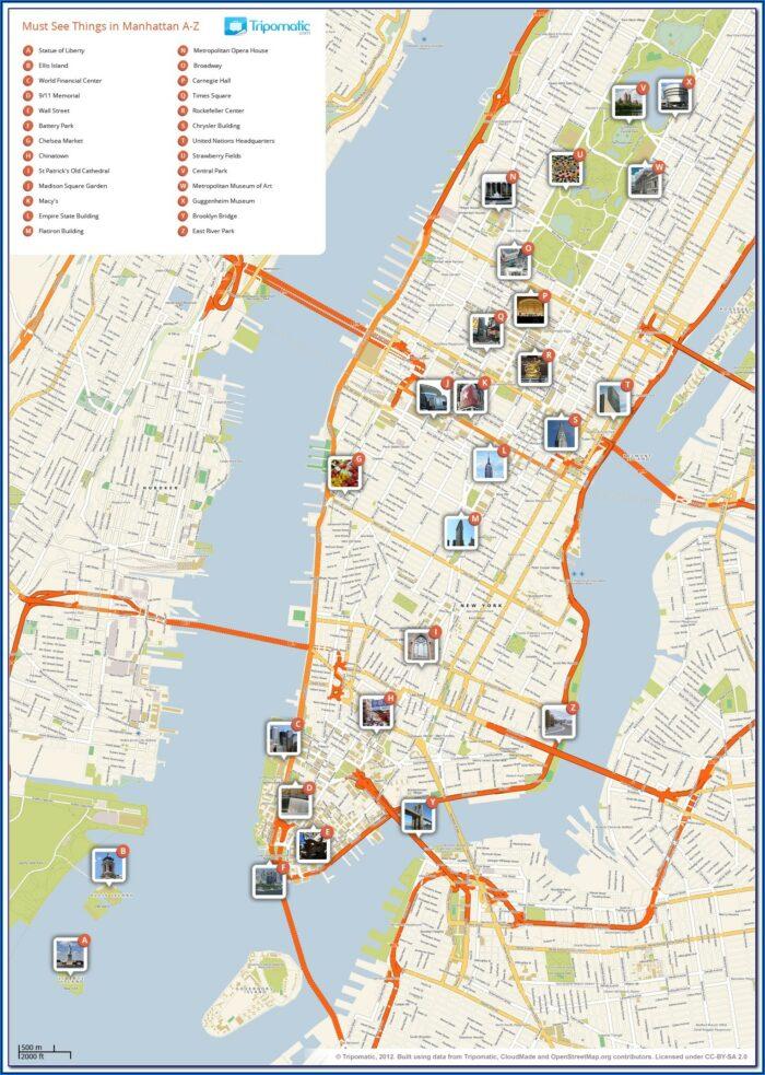 Printable Map Of New York City Boroughs