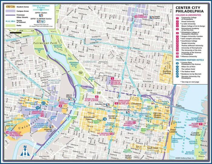 Printable Map Of Philadelphia Airport