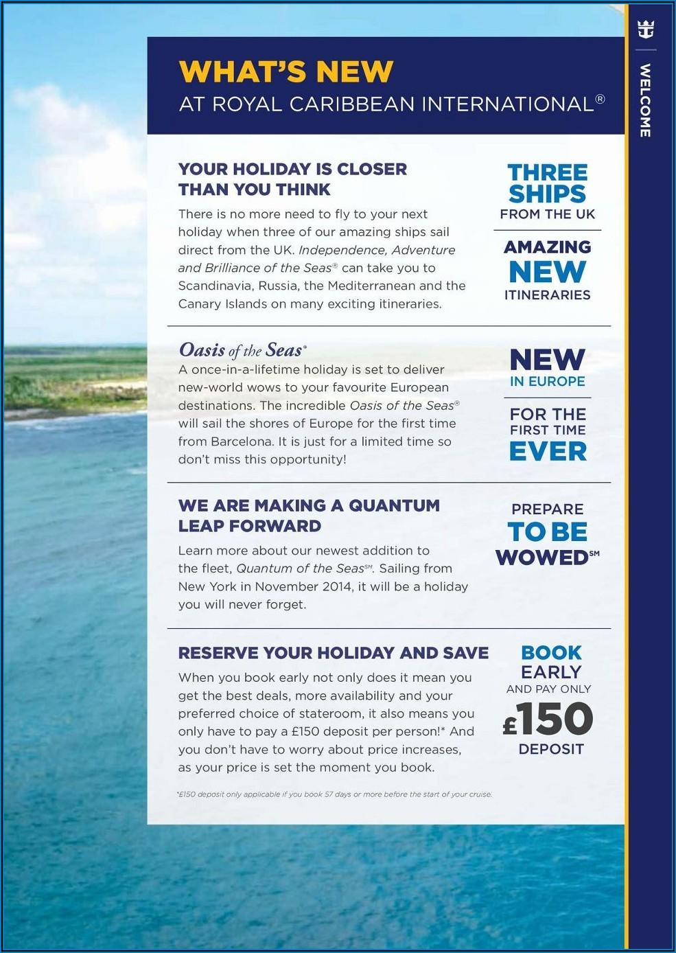 Royal Caribbean Shore Excursions Brochure