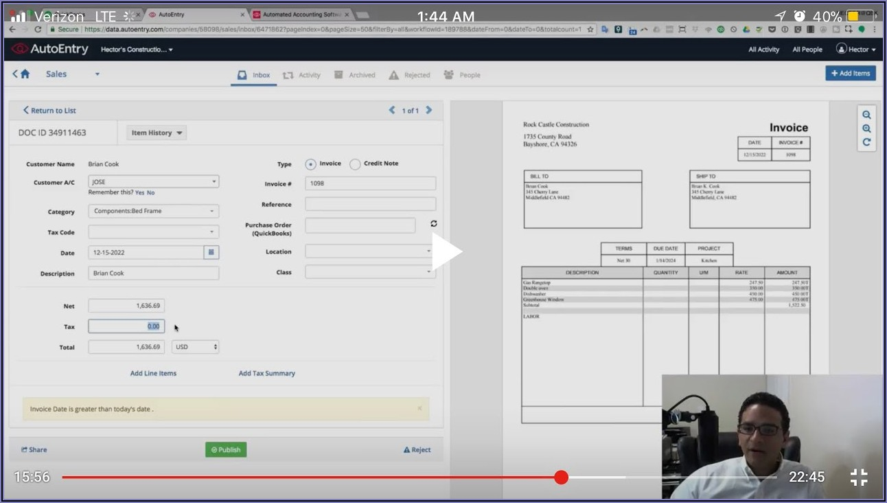 Scan Vendor Invoices Into Quickbooks Desktop